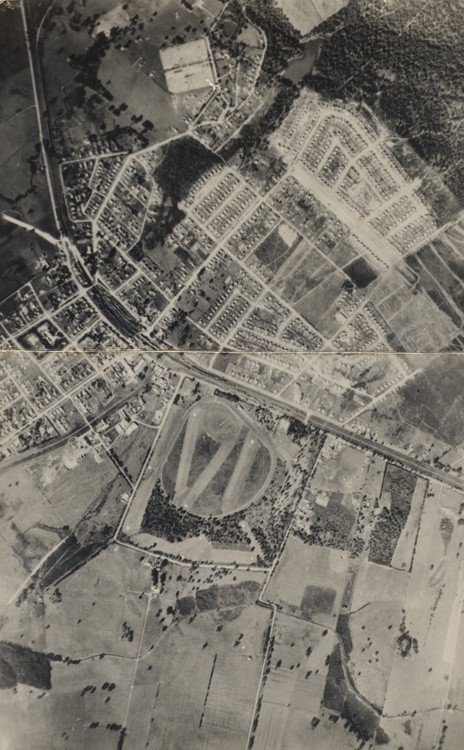 View of Moe from the 1920s to 1930s, showing Reserve in top right hand corner
